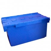 Attached Lid Containers (AT10A804BB) AT10A804 - 10A82 - 80 Litre - Blue - 710x460x368mm